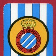 Coleccionismo deportivo: CALENDARIO PUBLICIDAD ESCUDO FUTBOL ESPAÑOL 1972 NO FOURNIER ORIGINAL CAL10540. Lote 222039506