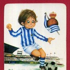 Coleccionismo deportivo: CALENDARIO PUBLICIDAD FUTBOL REAL SOCIEDAD 1974 ORIGINAL CAL10544. Lote 222040315