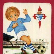Coleccionismo deportivo: CALENDARIO PUBLICIDAD FUTBOL CELTA DE VIGO 1974 ORIGINAL CAL10545. Lote 222040386