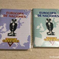 """Coleccionismo deportivo: CALENDARIO DINÁMICO """" EUROCOPA DE NACIONES """" APÉNDICE 21 A - 21 B. Lote 222616895"""