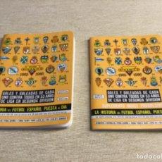 Coleccionismo deportivo: CALENDARIO SÚPER DINÁMICO 1985 / 1986 - Nº 15 Y SUPLEMENTO INDICE PROGRESIVO. Lote 222664495