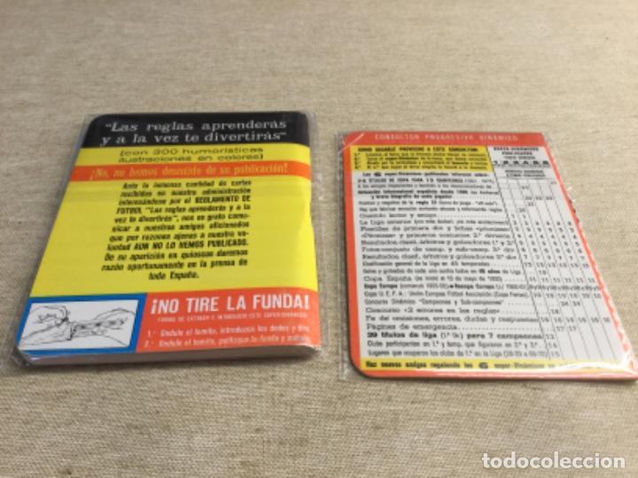 Coleccionismo deportivo: CALENDARIO SÚPER DINÁMICO 1976 - 1977 - Nº 6 y suplemento indice supletorio - Foto 2 - 222669048