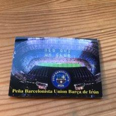 Coleccionismo deportivo: CALENDARIO F. C. BARCELONA. Lote 222791957