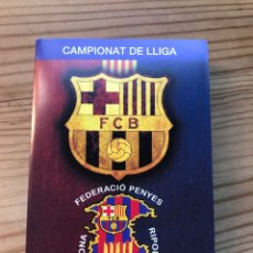 Coleccionismo deportivo: F.C. BARCELONA FEDERACIÓ PENYES OSONA-RIPOLLÉS. Lote 222792660