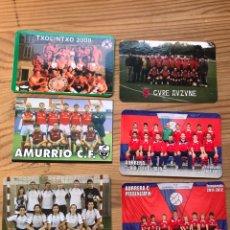 Coleccionismo deportivo: CALENDARIOS EQUIPOS VASCOS. Lote 222792753