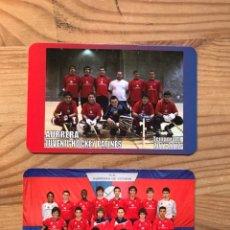Coleccionismo deportivo: CALENDARIOS HOCKEY VASCOS. Lote 222792823