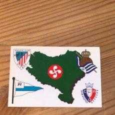 Coleccionismo deportivo: EQUIPOS EUSKAL HERRIA FUTBOL DE 1A DIVISIÓN 1998. Lote 222793020