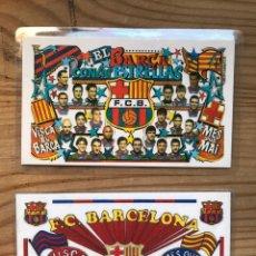 Coleccionismo deportivo: F.C. BARCELONA 1994 Y 1998. Lote 222792132