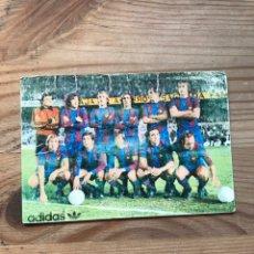 Coleccionismo deportivo: FORMACIÓN F. C. BARCELONA 1977. Lote 222797223