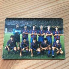 Coleccionismo deportivo: FORMACIÓN F. C. BARCELONA 1992. Lote 222797656