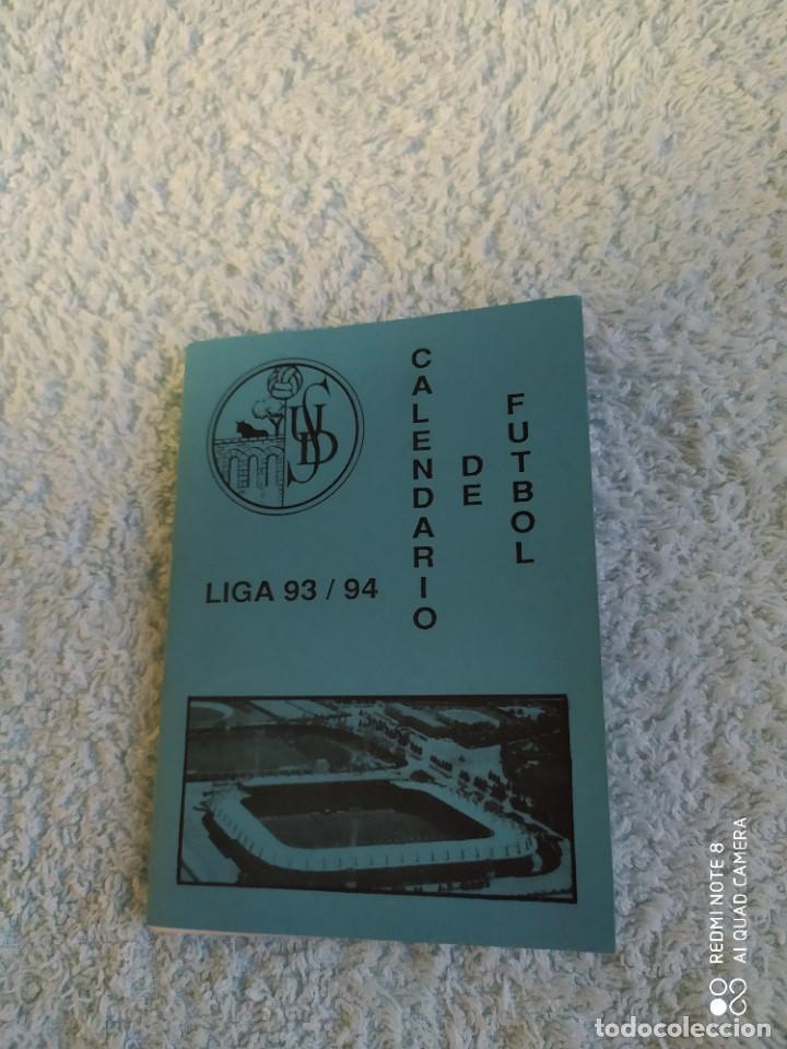 UNION DEPORTIVA SALAMANCA CALENDARIO LIGA 93/94 NUEVO (Coleccionismo Deportivo - Documentos de Deportes - Calendarios)