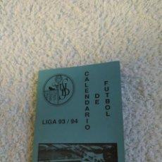 Coleccionismo deportivo: UNION DEPORTIVA SALAMANCA CALENDARIO LIGA 93/94 NUEVO. Lote 222836710