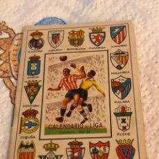 Coleccionismo deportivo: ANTIGUO CALENDARIO DE FÚTBOL TEMPORADA 62-63. Lote 223401123
