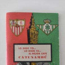 Coleccionismo deportivo: CALENDARIO DE LA LIGA 61/62. Lote 223816292