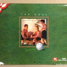Coleccionismo deportivo: CALENDARIO DE 1998 DEL CENTENARIO DEL ATHLETIC CLUB DE BILBAO.. Lote 225798882