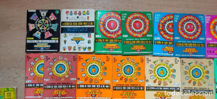 Coleccionismo deportivo: 90 calendarios Dinamico de 1970 al 2015. Gratuitos, numerados de pago, internacionales. etc - Foto 2 - 227868725