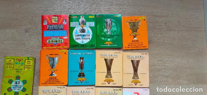 Coleccionismo deportivo: 90 calendarios Dinamico de 1970 al 2015. Gratuitos, numerados de pago, internacionales. etc - Foto 12 - 227868725