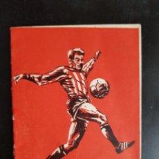 Coleccionismo deportivo: CALENDARIO FÚTBOL LIGA 1966-1967 BAR CASA PERUCHA OVIEDO 66-67 ASTURIAS. Lote 228693550