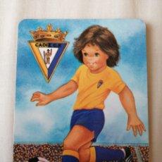 Colecionismo desportivo: CALENDARIO DE BOLSILLO CÁDIZ CF. Lote 229046035