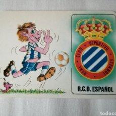 Collectionnisme sportif: CALENDARIO DE BOLSILLO RCD ESPANYOL. Lote 231455265