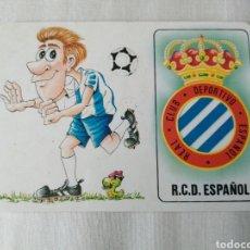 Collectionnisme sportif: CALENDARIO DE BOLSILLO RCD ESPANYOL. Lote 231455875