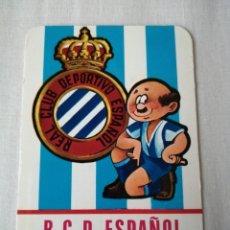 Collectionnisme sportif: CALENDARIO DE BOLSILLO RCD ESPANYOL. Lote 231456295
