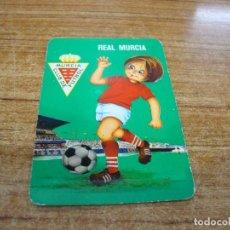 Coleccionismo deportivo: CALENDARIO DE BOLSILLO TEMA FUTBOL REAL MURCIA 1976. Lote 233972600