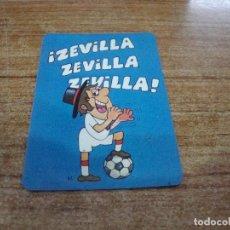 Coleccionismo deportivo: CALENDARIO DE BOLSILLO TEMA FUTBOL SEVILLA 1978. Lote 233972820