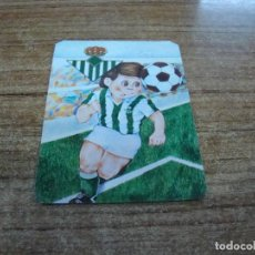 Coleccionismo deportivo: CALENDARIO DE BOLSILLO TEMA FUTBOL R. BETIS BALOMPIE 1985. Lote 233974350