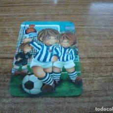 Coleccionismo deportivo: CALENDARIO DE BOLSILLO TEMA FUTBOL REAL SOCIEDAD 1980. Lote 233974630