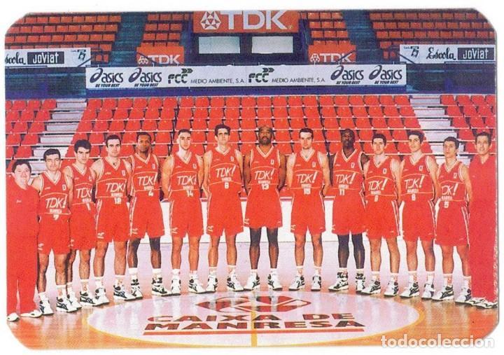TDK MANRESA - CAMPEÓN COPA ACB 1996 (Coleccionismo Deportivo - Documentos de Deportes - Calendarios)