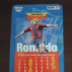 Coleccionismo deportivo: CALENDARIO SPORT DEL BARÇA - AÑO 1997. Lote 236232715