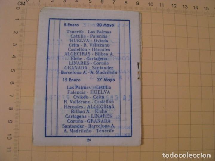 Coleccionismo deportivo: CALENDARIO LIGA PRIMERA DIVISIÓN TEMPORADA 1983-84 - - BETIS. MAL ESTADO. - Foto 3 - 236804220