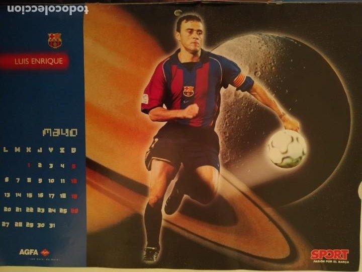 Coleccionismo deportivo: CALENDARIO ESTRELLAS BARÇA - 2002 - Foto 2 - 237137240