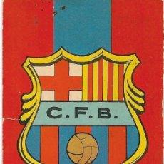 Coleccionismo deportivo: CALENDARIO DE BOLSILLO F.C.B DEL AÑO 1973. Lote 237448600