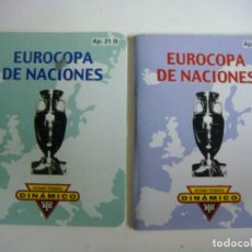 Coleccionismo deportivo: CALENDARIO DE FUTBOL DINAMICO EUROCOPA DE NACIONES AP.21-A Y AP 21-B-(&). Lote 241318520