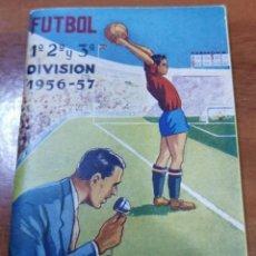 Coleccionismo deportivo: CALENDARIO DE LIGA 1956-1957, 56-57 - IMPRENTA PAPELERÍA CARMONA - SEVILLA - BETIS. Lote 241644715