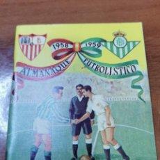 Coleccionismo deportivo: CALENDARIO DE LIGA 1958-1959, 58-59 - IMPRENTA PAPELERÍA CARMONA - SEVILLA - BETIS. Lote 241645330