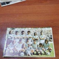 Coleccionismo deportivo: CALENDARIO DE LIGA 1979-1980, 79-80 - REAL BETIS BALOMPIE. Lote 241648530