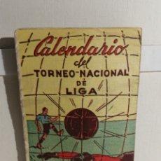 Coleccionismo deportivo: CALENDARIO TORNEO NACIONAL DE LIGA 1° Y 2° DIVISIÓN 1955/56. Lote 244668700
