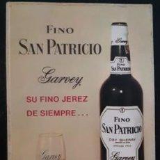 Coleccionismo deportivo: CALENDARIO CON ALINEACIONES DE EQUIPOS (PALMEIRAS, BARCELONA, SANTOS Y ESPAÑOL), FINO SAN PATRICIO. Lote 246078595
