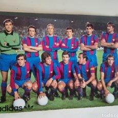 Coleccionismo deportivo: BARÇA FUTBOL EQUIPO F.C.BARCELONA CALENDARIO 1979 ADIDAS. Lote 246586075