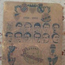 Colecionismo desportivo: CALENDARIO DE FÚTBOL DINÁMICO 1950-1951 - FACSIMIL. Lote 247260225