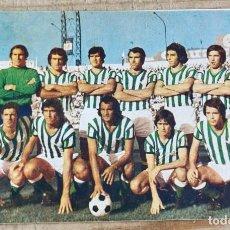 Coleccionismo deportivo: CALENDARIO DIPTICO REAL BETIS.TEMPORADA 1976/1977.MAGNIFICO ESTADO. Lote 254228810