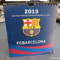 Coleccionismo deportivo: (LLL) CALENDARIO PRODUCTO OFICIAL F.C.BARCELONA 2013-BARÇA-COMPLETO-MESSI. Lote 255391250
