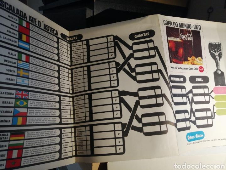 Coleccionismo deportivo: Calendario Copa del Mundo 1970 Mexico sin escritos - Foto 3 - 256148165