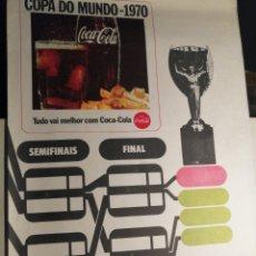 Coleccionismo deportivo: CALENDARIO COPA DEL MUNDO 1970 MEXICO SIN ESCRITOS. Lote 256148165