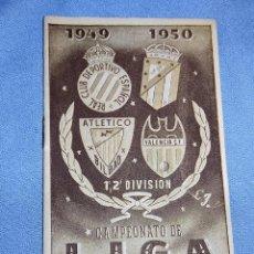 Coleccionismo deportivo: CAMPEONATO DE LIGA 1ª Y 2ª DIVISION 1949-50 EN MUY BUEN ESTADO. Lote 257419555