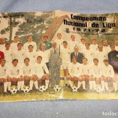Coleccionismo deportivo: CAMPEONATO NACIONAL DE LIGA 1ª - 2ª Y 3ª DIVISION 1971-72 EN BUEN ESTADO. Lote 257420250
