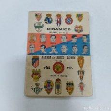 Coleccionismo deportivo: IRLANDA DEL NORTE- ESPAÑA 1964-1965 (2770/21). Lote 260669505